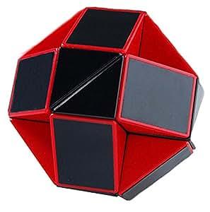 Amazon.com: LanLan Red/black 15 Inch Snake Magic Ruler Twist Puzzle