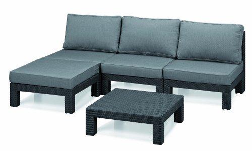 Gartenmöbel Sets Günstig Allibert 206476 Lounge Set