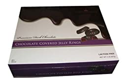 Manhattan Dark Chocolate Covered Jelly Rings 2 lb Box