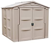 "Hot Sale Suncast 7' 9 3/4""  x  7' 10 3/4"" Storage Shed"