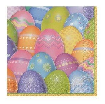 Easter Dazzle Eggs Beverage Napkins