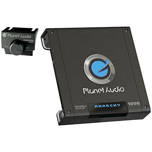 Planet Audio AC1000.2 ANARCHY 1000-Watt Full Range Class A/B 2 to 8 Ohm Stable 2 Channel Amplifier with Remote Subwoofer Level Control (Land Rover Mobile Phone compare prices)