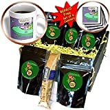 Londons Times Funny Aliens Cartoons - UFO Elvis Sighting - Coffee Gift Baskets - Coffee Gift Basket