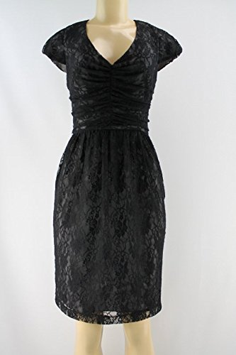 marc-new-york-cap-sleeve-illusion-lace-flare-dress-black-size-4