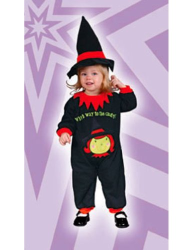 Witch Jumpsuit Baby Costume 6-18 Months