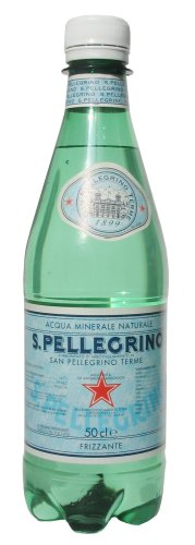 Sanpellegrino (Pellegrino) natural mineral water (small carbon dioxide) 500ml×24 this [parallel import goods]