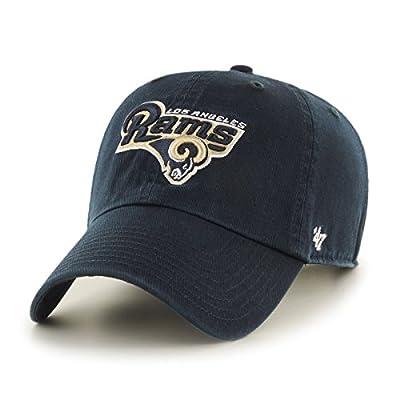 NFL Los Angeles Rams '47 Clean Up Adjustable Hat, Navy, Kids',Navy