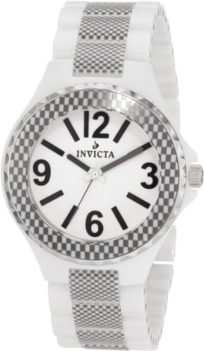 Invicta Womens 1184 Ceramic White
