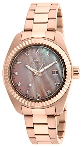 invicta-womens-quartz-watch-with-rose-gold-dial-analogue-display-and-rose-gold-stainless-steel-brace