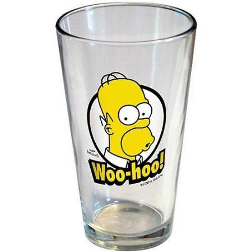 Simpsons Homer Woo-hoo! Pint Glass