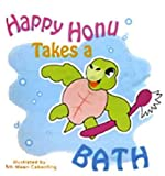 Happy-Honu-Takes-A-Bath