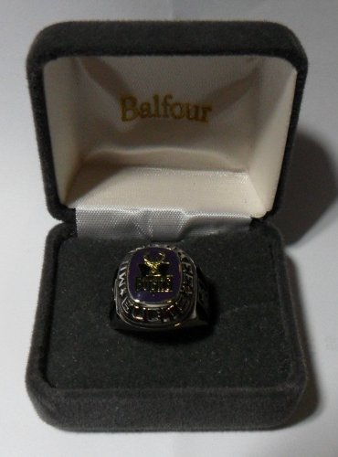 Balfour NBA Milwaukee Bucks Ring Size 8.5 White Gold
