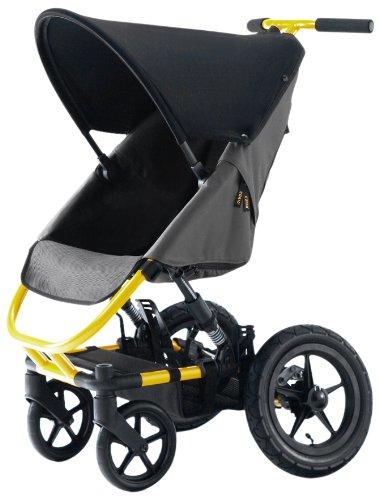 CURIO ベビーカー Stroller R Yellow×Grey