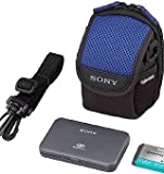 Sony ACC-CFR Accessory Kit for DSC-P200, P150 & P100 (Case, Battery and Memorystick case)