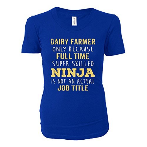 best-gift-idea-for-a-super-skilled-ninja-dairy-farmer-ladies-t-shirt