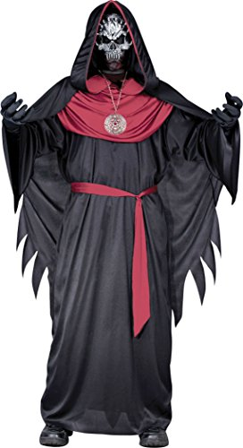 Boys Emperor Of Evil Kids Child Fancy Dress Party Halloween Costume
