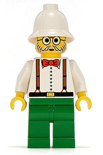 Lego Adventurers Minfigure: Dr. Kilroy (Professor) - 1