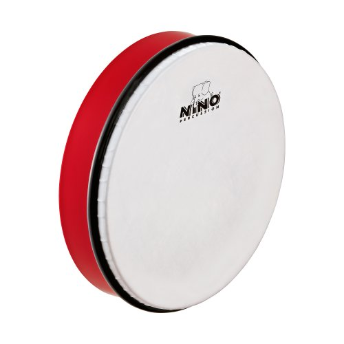 Nino Abs 10-Inch Hand Drum Red