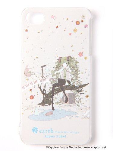 (アースミュージックアンドエコロジー)earth music&ecology  初音ミク コラボ MIKU×Chiho×earth iPhoneケース/IAC 52121J90000