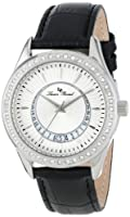 Lucien Piccard Women's LP-12721-02 Staz Analog Display Quartz Black Watch by Lucien Piccard