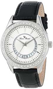 Lucien Piccard Women's LP-12721-02 Staz Analog Display Quartz Black Watch