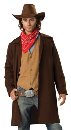 In Character Wild West Outlaw Mens Cowboy Outfit