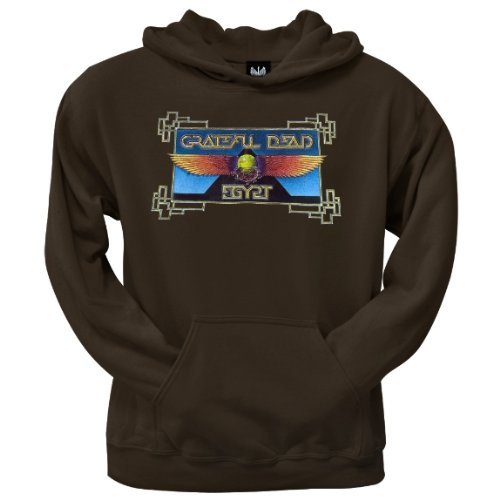 Old Glory Mens Grateful Dead - Egypt Pullover Hoodie - 2X-Large Brown