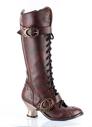 Womens-Hades-Vintage-Boot-Burgandy