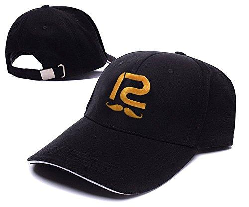 DONGF Snapback - Cappellino da baseball - Uomo Black Snapback Taglia Unica