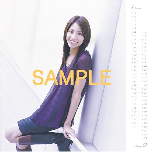 松下奈緒 2008年 カレンダー