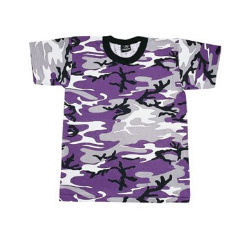 Purple Camouflage T-shirt