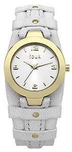FCUK Women's FC1105WG Casual Cuff White Gold Watch