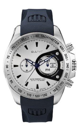 Gant Bedford W10386 - Reloj para hombres, correa de goma color azul