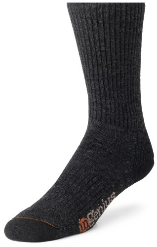 Wigwam Men'S Everyday Fusion Socks, Charcoal, Large front-1054275