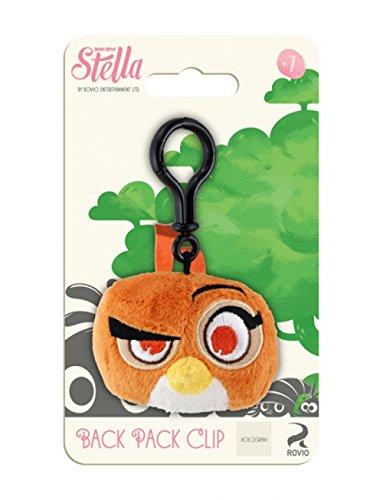 "Angry Birds Stella 3.5"" Dahlia Plush Bag Clip"