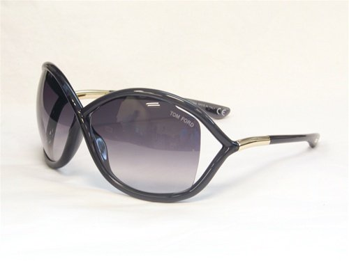 TOM FORD WHITNEY TF09 Sunglasses SMOKE GRADIENT / DARK GREY B5 64-14-110