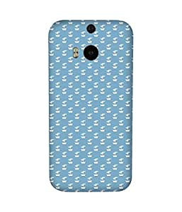 Yatch Back Cover Case for HTC One M8