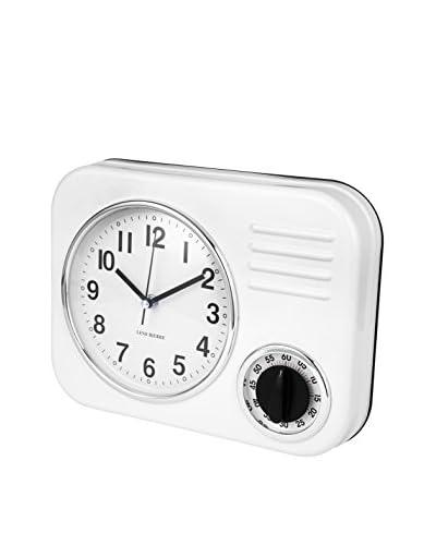 Lene Bjerre Clotille White Clock Model 3