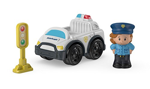 Fisher-Price Little People Police Car - 1