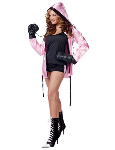 Knockout Sexy Boxer 2-8 Halloween Costume