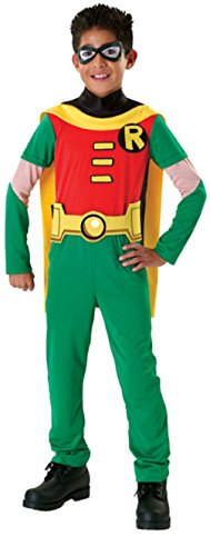 Teen Titan Robin Costume Boy - Child Large 12-14