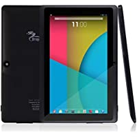Dragon Touch Y88X 7'' Tablet PC Quad Core Google Android 4.4 KitKat, Allwinner A33 Cortex A7, Dual Camera, HD 1024x600 Multi-touch Screen, 8GB Nand Flash, Google Play Pre-loaded, WiFi, 3D Game Supported