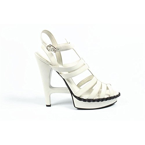 sandalo donna Yves Saint Laurent ladies multistrap sandal 241781 ϒ3400 9000 -- 41 eur - 11 us