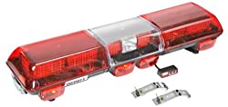 Infinity 3 LED Roof Mount Light Bar - Red