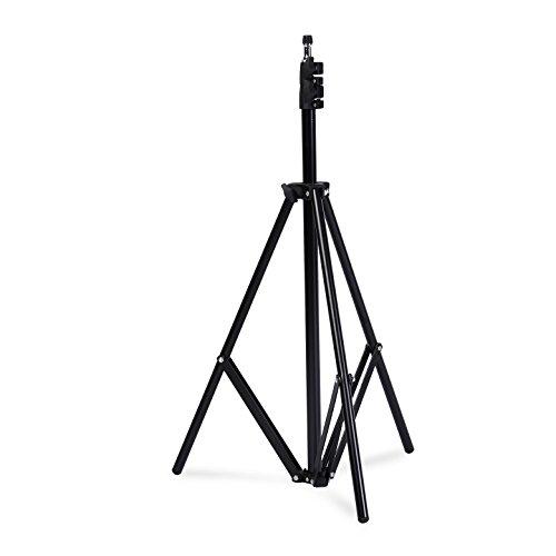 PhotoSEL ST231 Pied d'Eclairage Projecteur Réglable pour Studio Photo Vidéo 80-190 cm