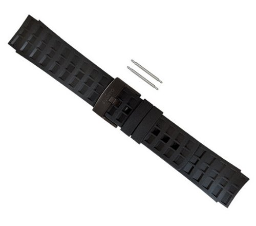 Suunto Elementum Terra Rubber Replacement Strap Kit (All Black)