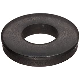 Steel Flat Washer, Inch, Made in US