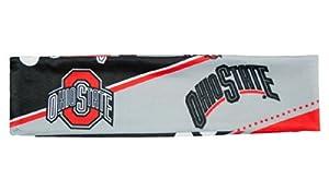 NCAA Ohio State Buckeyes Stretch Headband, White