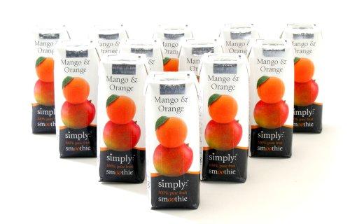 Mango Smoothie-0 - Libro naranja 250 ml × 12