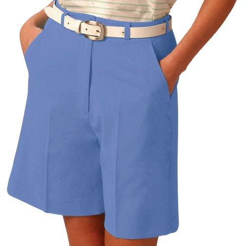 Monterey Club Ladies Fairway Shorts #2818 (Harbor Blue,Size:8)